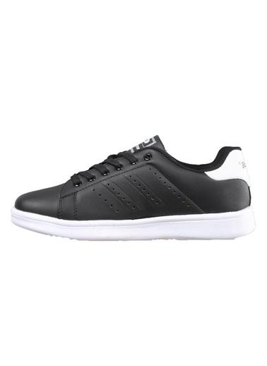 Bestof 041 Siyah-Beyaz Unisex Spor Ayakkabı Siyah